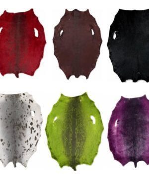 Sealskin in different colors from Greenlandic Ringed seal