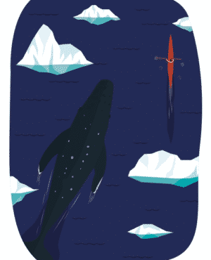 Whale & Me Poster