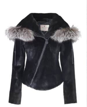 Ticket To Ride Tanned Sealskin Jacket
