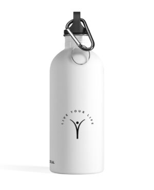Live Your Life – Stainless Steel Water Bottle