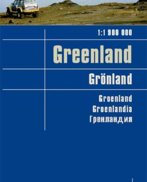 Greenland Travel Map – 1:1,900,000 (English, Spanish, French, German and Russian Edition)