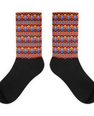 Socks with Traditional Greenlandic Pattern – extra comfortable and cushioned