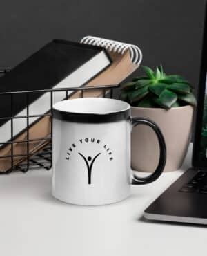 Live Your Life – A mug that reminds you to do exactly that…