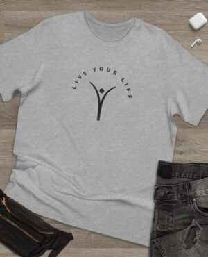 Live Your Life – Deluxe T-shirt for Men