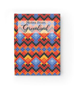 Unique Personal Journal with Your notes from Greenland