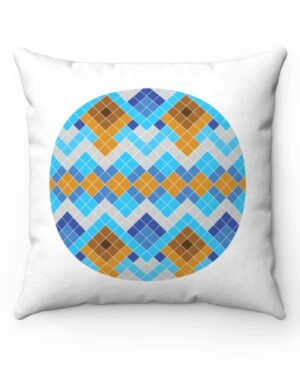 Blue and White Nuilarmiut Pillow