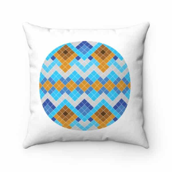 Greenland Store- Blue and White Nuilarmiut Pillow