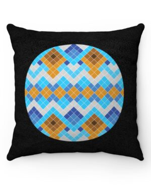 Blue and Black Nuilarmiut Pillow