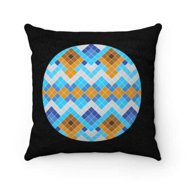 Greenland store- Blue and Black Nuilarmiut Pillow
