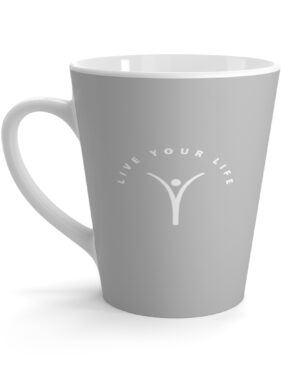 Live Your Life – Coffee Latte Mug