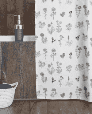 Shower Curtain with Greenlandic Herbs